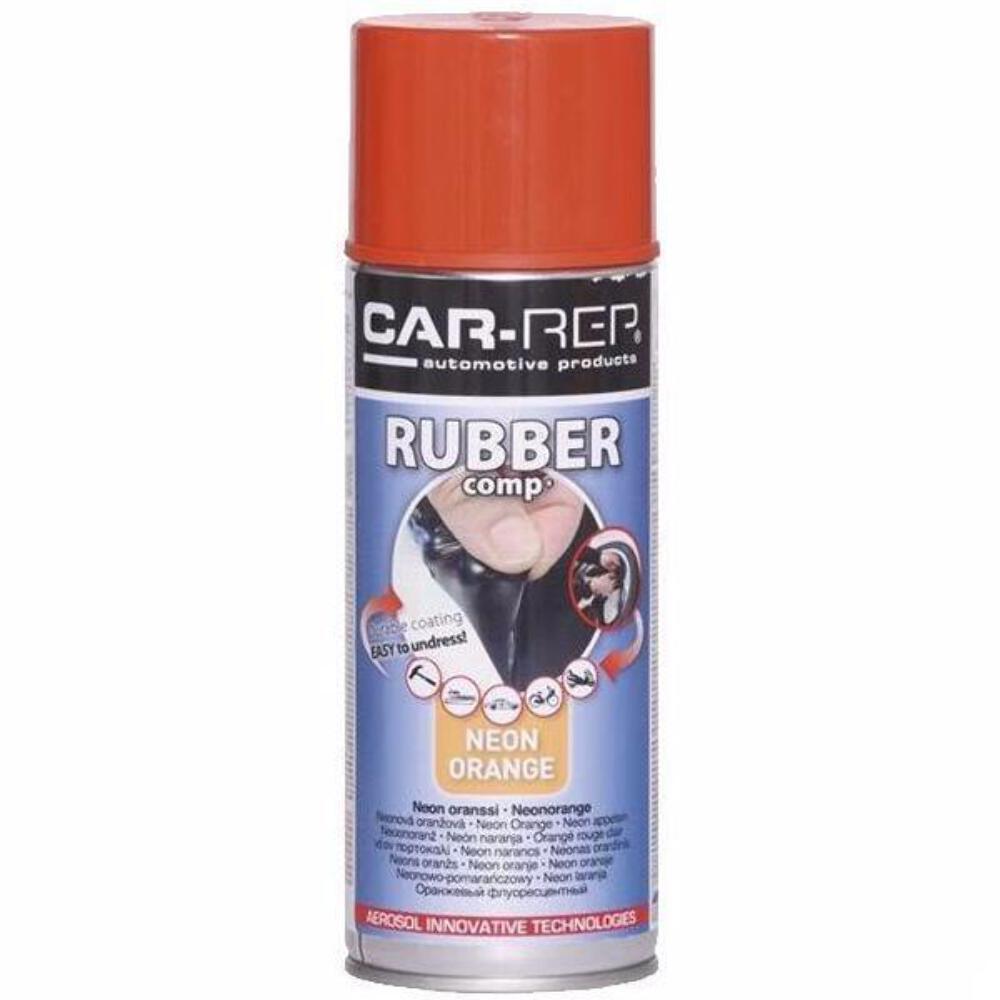 Neon Orange Removable Rubber Plasti Dip Wheel Rim Spray Paint Can ...