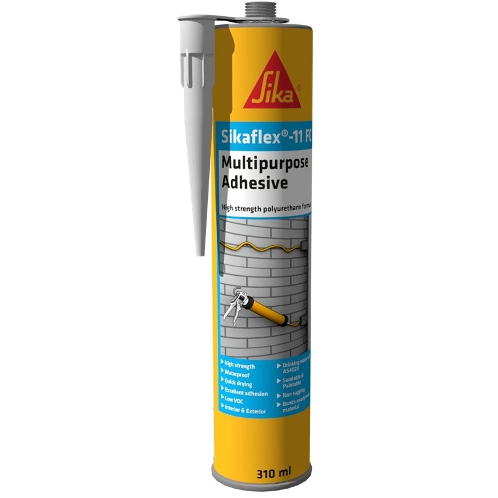 Sikaflex 291 White Adhesive Fast Cure Sealant 600ml