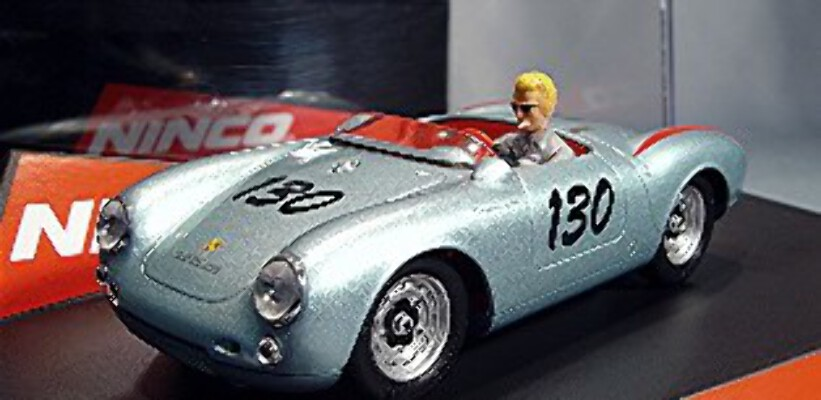 ninco 50506 porsche 550 spyder james dean