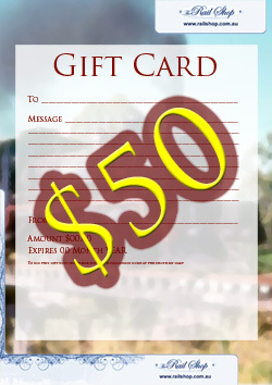 Gift Card $50 Value!