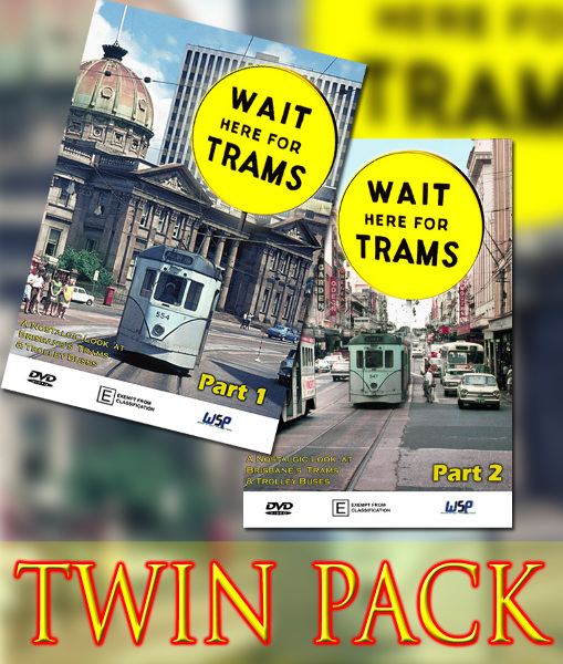 Wait Here For Trams - 1 & 2 TWIN PACK (DVD SET)