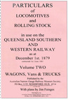 Particulars of Locomotives & Rollingstock in use on the QS&W Railway Volume 2 (BOOK)
