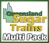 Queensland Sugar Trains - Multi Pack