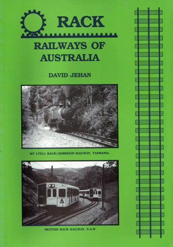 Rack Railways Of Australia (BOOK)
