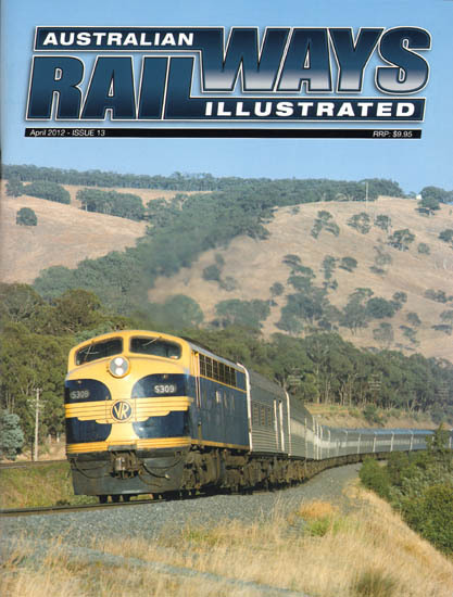 Australian Railways Illustrated - Issue 13