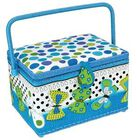 Medium Rectangle Sewing Basket - 29.2cm x 22.2cm x 19cm