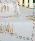 Christmas Candles Table Cloth