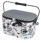 Large Oval Sewing Basketg 31cm x 21.5cm x 19cm