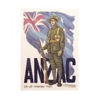 Anzac Digger - counted cross stitch kit - 25cm x 35cm