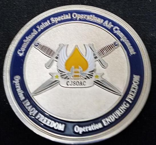 Details about Rare CFSOC CJSOAAC OIF Combined Forces Special Operations  Command Combined Joint