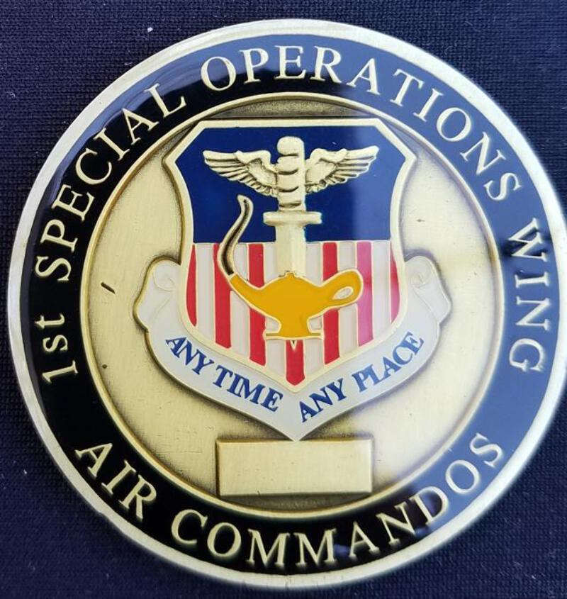 Details about AFSOC 1ST SOW Air Force Special Operations Command 1ST  Special Operations Wing C