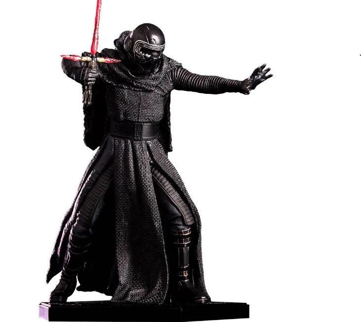 Original Iron Studios Star Wars Rey Art Scale 1//10 Collection Figure Action