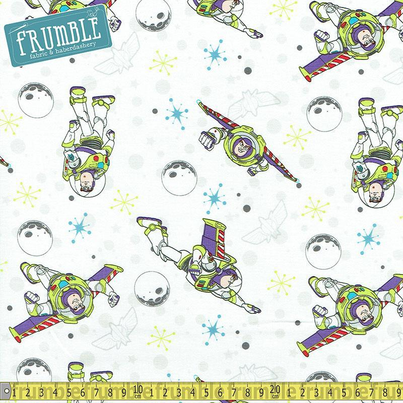 100/% cotton fabric by the 1//2 metre TOY STORY  Buzz Lightyear