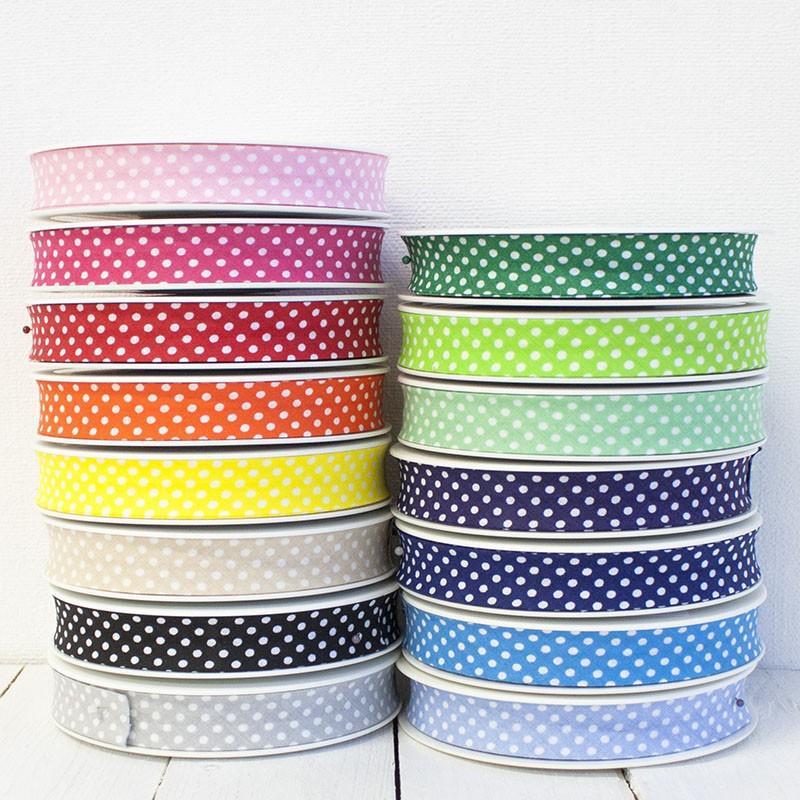 30mm Plain Bias Binding Tape Trim 5m//25m Wholesale Rainbow Colours
