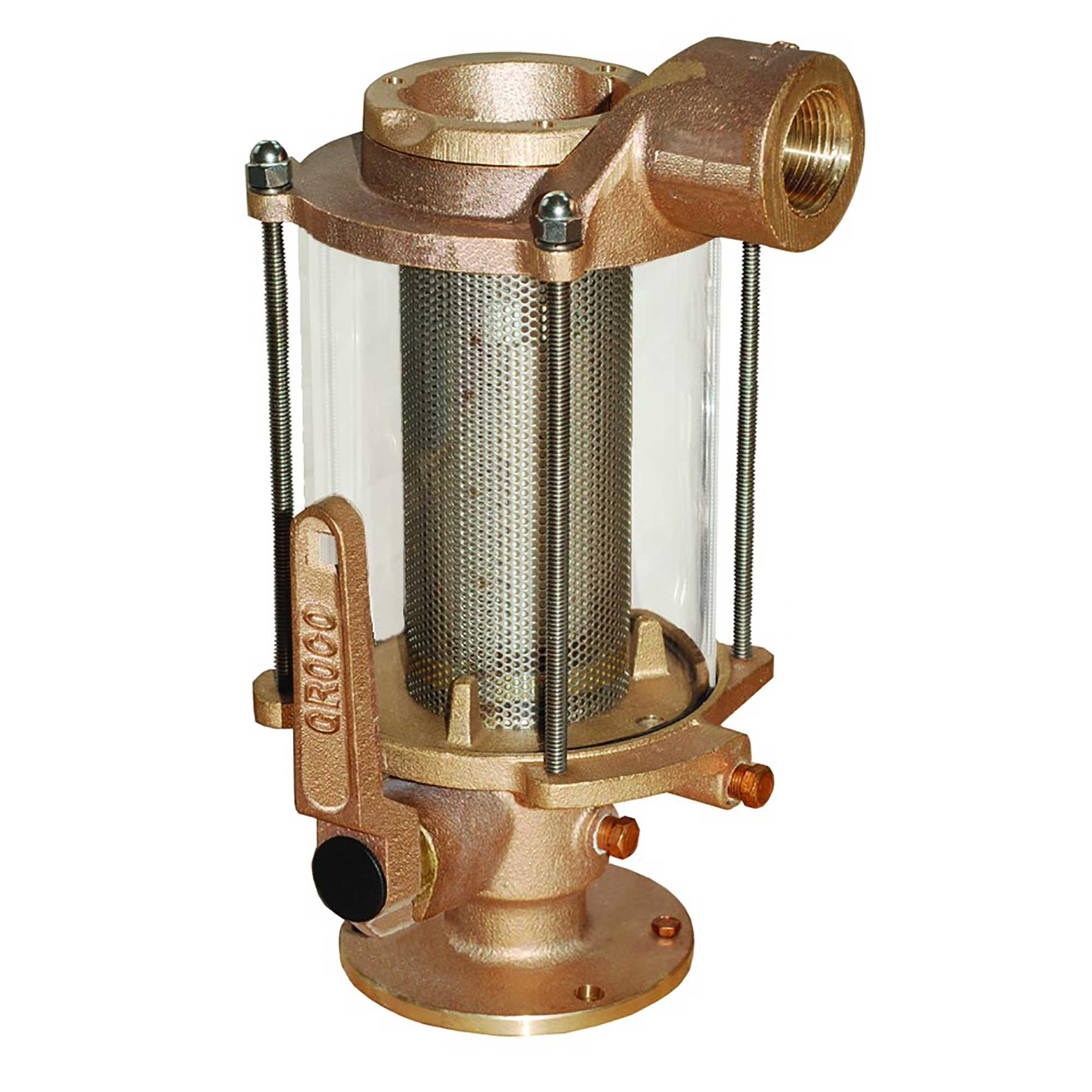 1 1//2 in Groco Hi-Speed Strainer with Nut