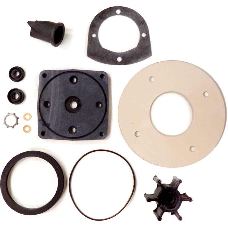 e1851ae4dce7 Details about Jabsco 37040-0000 Service Kit 37010-Series Marine Electric  Toilets Impeller Seal