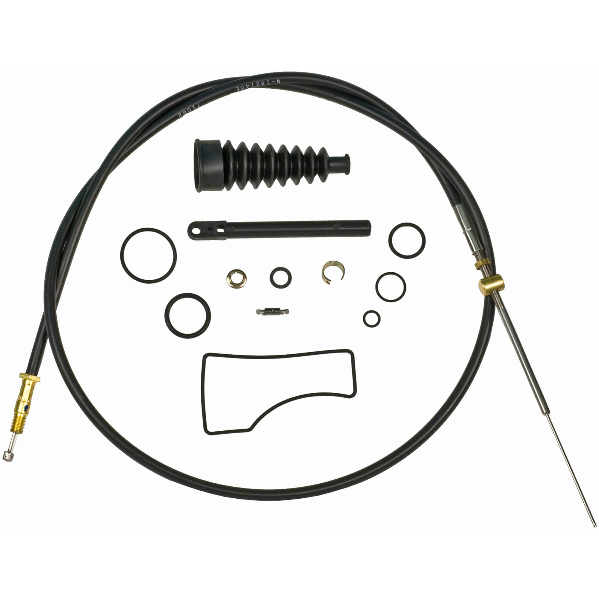 III Mercruiser Bravo lower Shift Cable Assembly Kit 21453 815471T1 Bravo I II