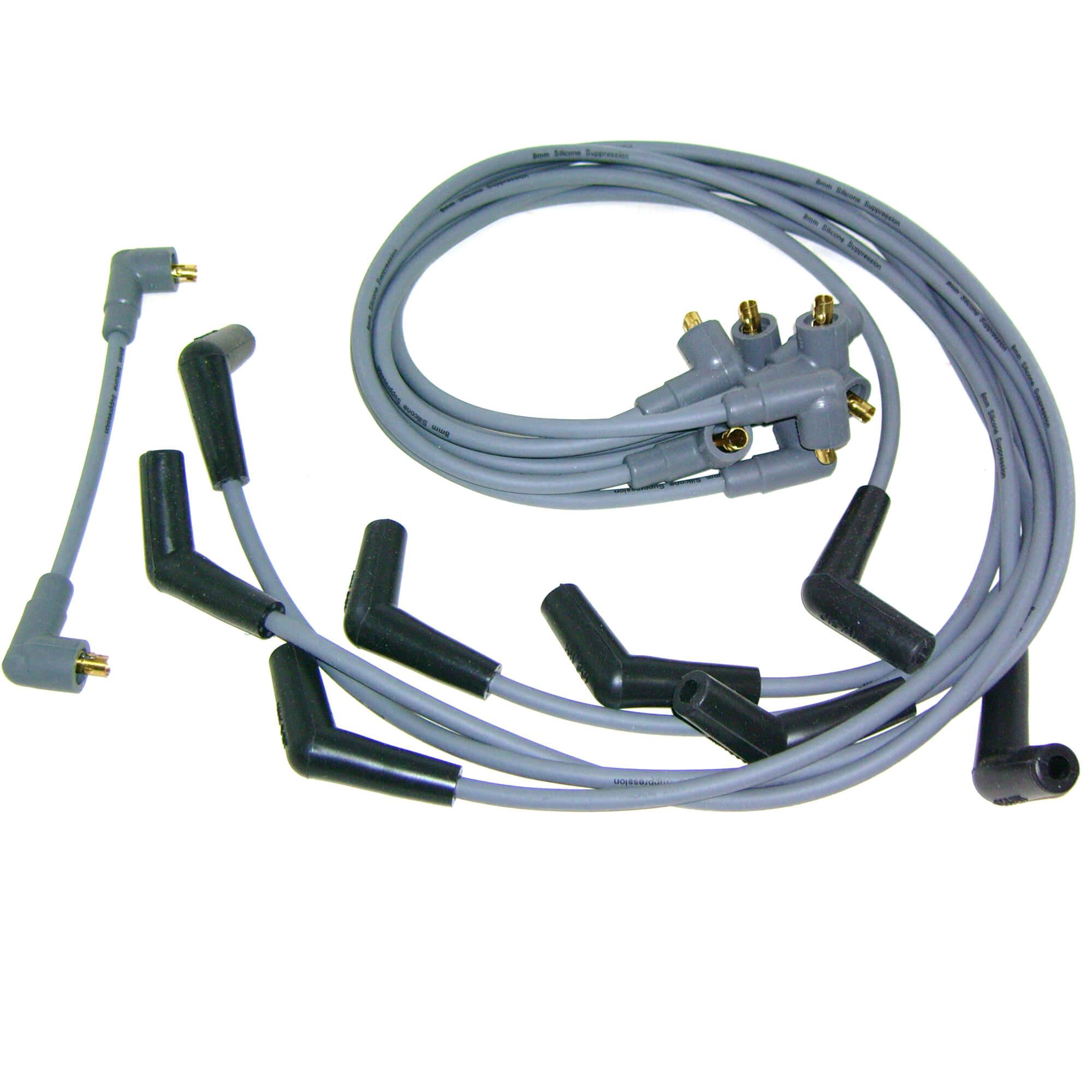 5.7L Volvo Penta New OEM Ignition Spark Plug Wire Set 3888328 V8 5.0L 8.1L
