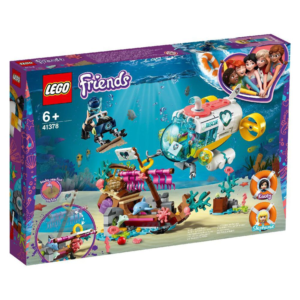 LEGO 41378 Friends Dolphins Rescue Mission Brand New ...