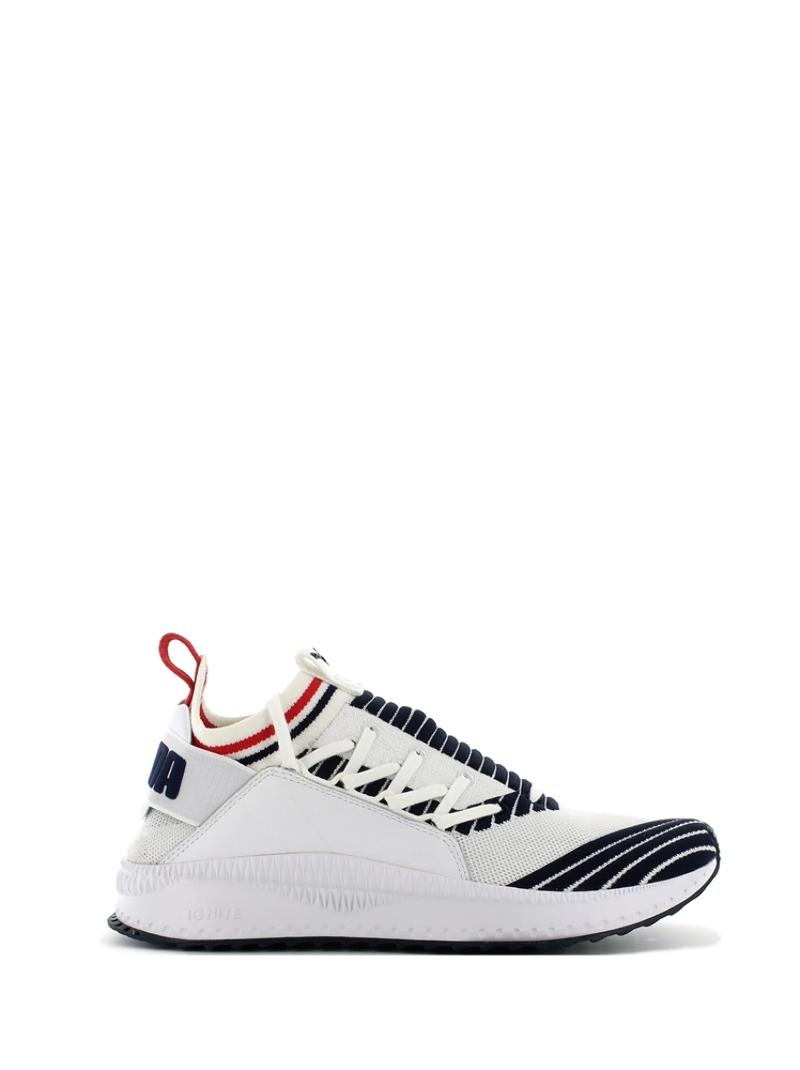 Dettagli su Puma Tsugi Jun Sport Stripes bianco
