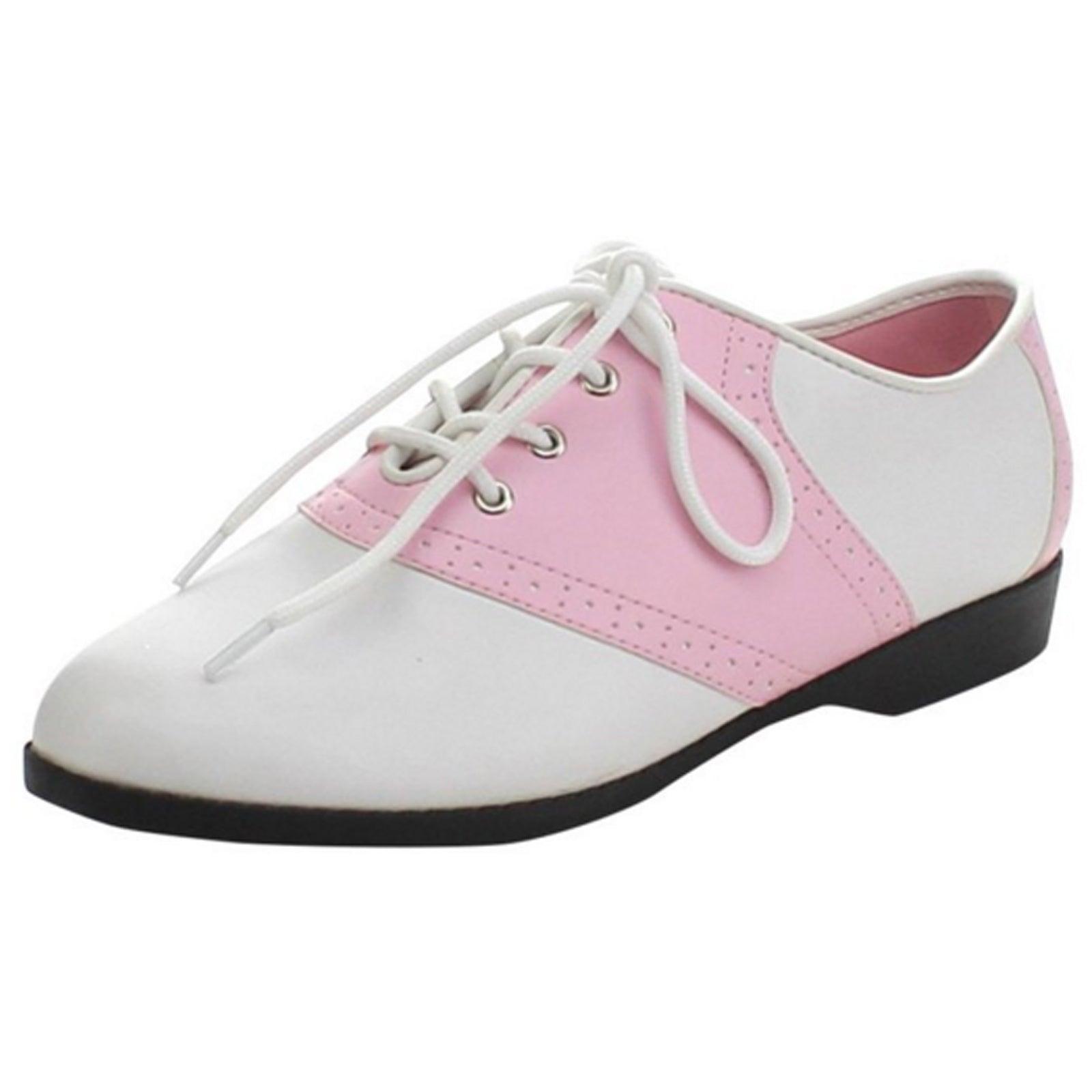 Funtasma SADDLE-50 Women/'s Shoes Black-White Pu Lace Up Oxford Casual Flat