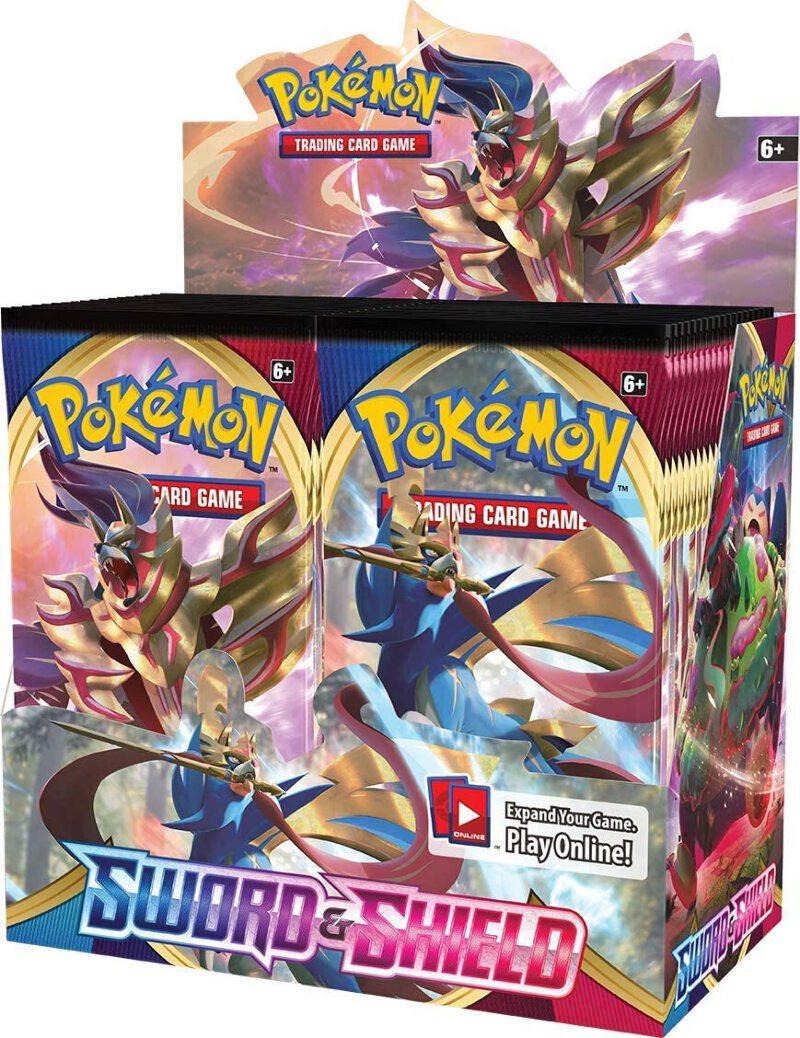Sword /& Shield New Sealed - Pokemon Base Set 36 Pack Booster Box