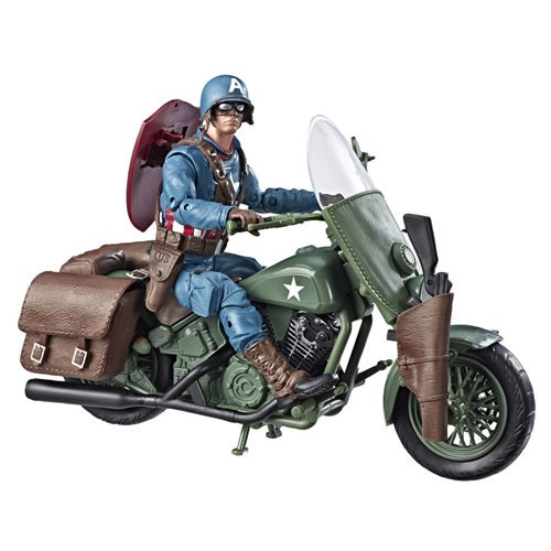 Ultimate Captain America /& Motorcycle Marvel Legends NEW 6-Inch IN STOCK