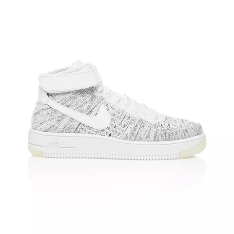 Nike Air Force 1 Ultra Flyknit Mid White 818018 101