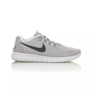 43f4510967db5 Nike Free RN 2017 Women s Running Training Shoe - Wolf Grey Pure  Platinum Off White Dark Grey