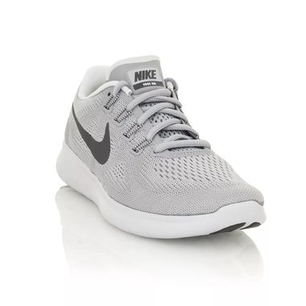 dee1aa9ddea31 Nike Free RN 2017 Women s Running Training Shoe - Wolf Grey Pure Platinum Off  White Dark Grey