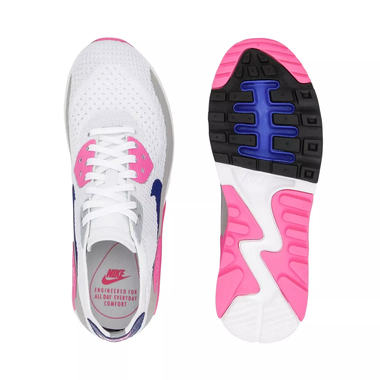 reputable site a6bbf e6907 Nike Air Max 90 Ultra 2.0 Flyknit Women s shoe - White Concord Laser Pink
