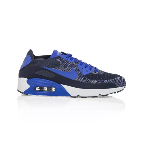 huge discount 54e2a e36a6 Details about Nike Air Max 90 Ultra 2.0 Flyknit Men's shoe - College  Navy/Paramount Blue