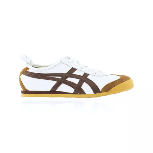 official photos 5cb9e 591e8 Details about Onitsuka Tiger Mexico 66 Casual Shoes - Men's Women's Unisex  - White/Dark Brown
