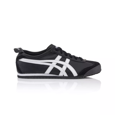 onitsuka tiger mexico 66 slip on black and white label new edition