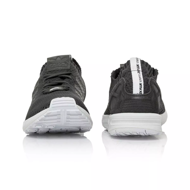 ebb3fb112 Adidas Originals ZX Flux Primeknit Men s Women s Running Shoe - Solid Grey Core  Black