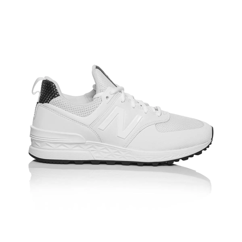reputable site 4ff50 9638e Details about New Balance 574 Sport Women's shoe - White/Black