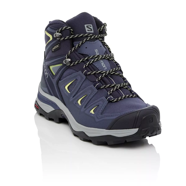8be4c30dabe Details about Salomon X Ultra 3 Mid GTX Women's Hiking Boot - Crown  Blue/Evening Blue/Sunny Li