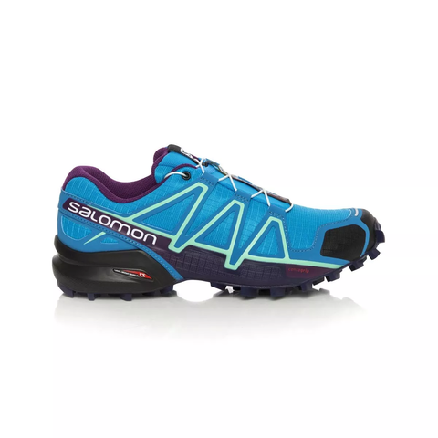 Salomon Speedcross 4 deep peacock bluelime punchgrape juice