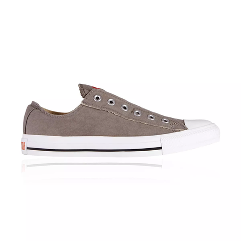 a615e1ee58ba Converse Chuck Taylor All Star Slip-On Unisex Men s Women s shoe -  Charcoal Orange