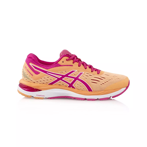 big collection professional hot new products Details about Asics Gel Cumulus 20 Women's Running Shoes- Mojave/Fuschia  Purple