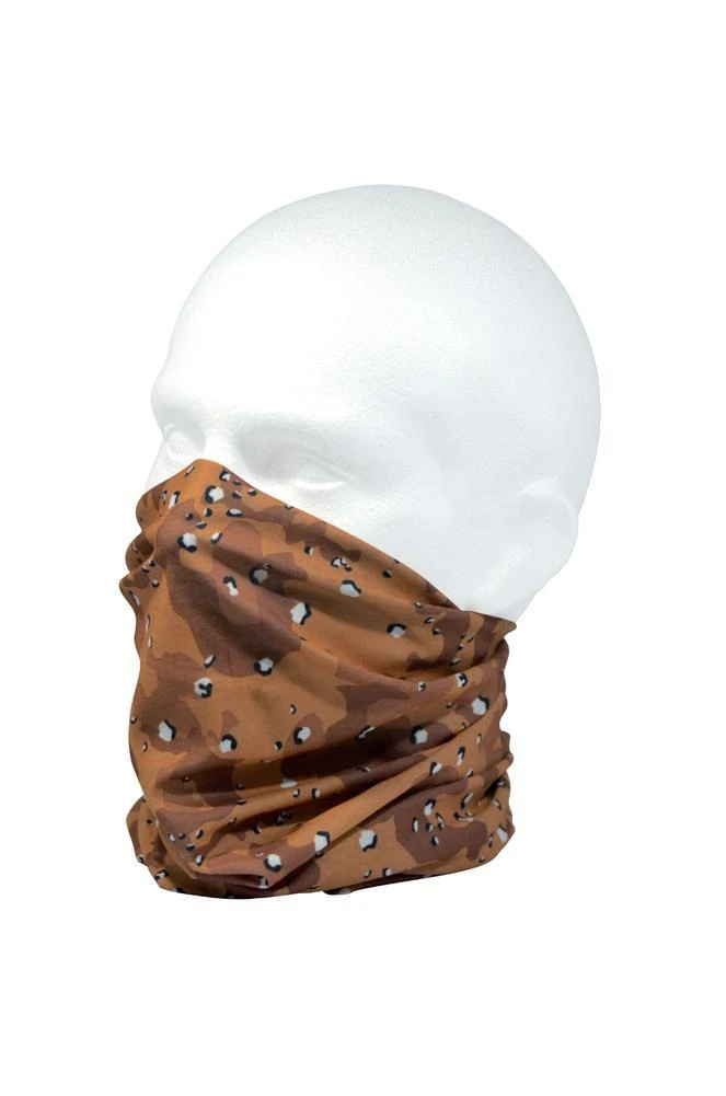 RUFFNEK® Woodland Army Camouflage Tube Scarf FREE P/&P