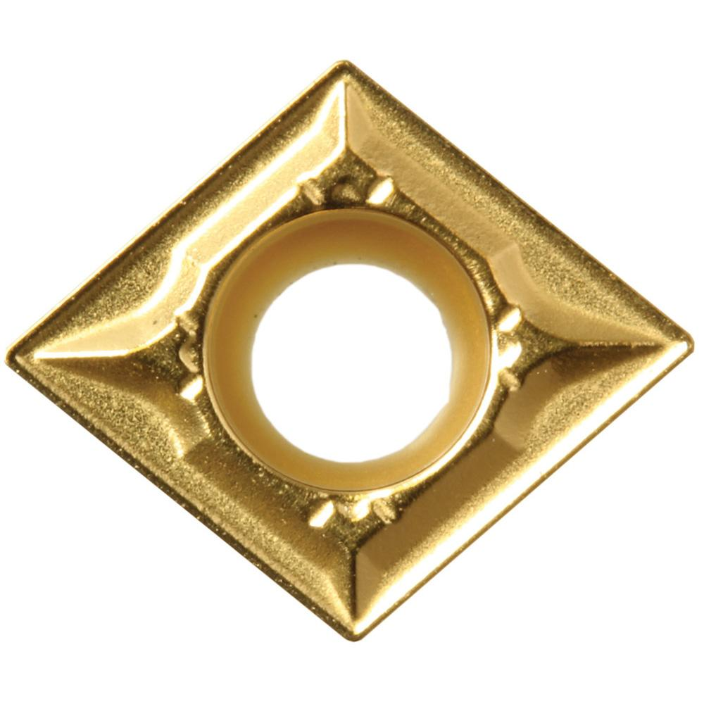 10 pcs Indexable Turning Insert Kyocera CPMT 321XQ CA5515 Grade CVD Carbide