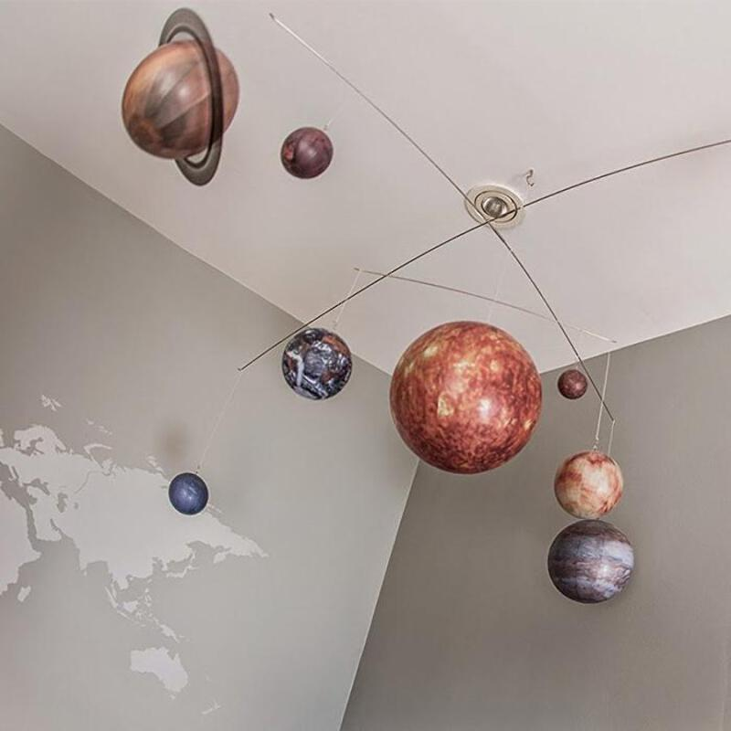 Details about Hanging Solar System Mobile