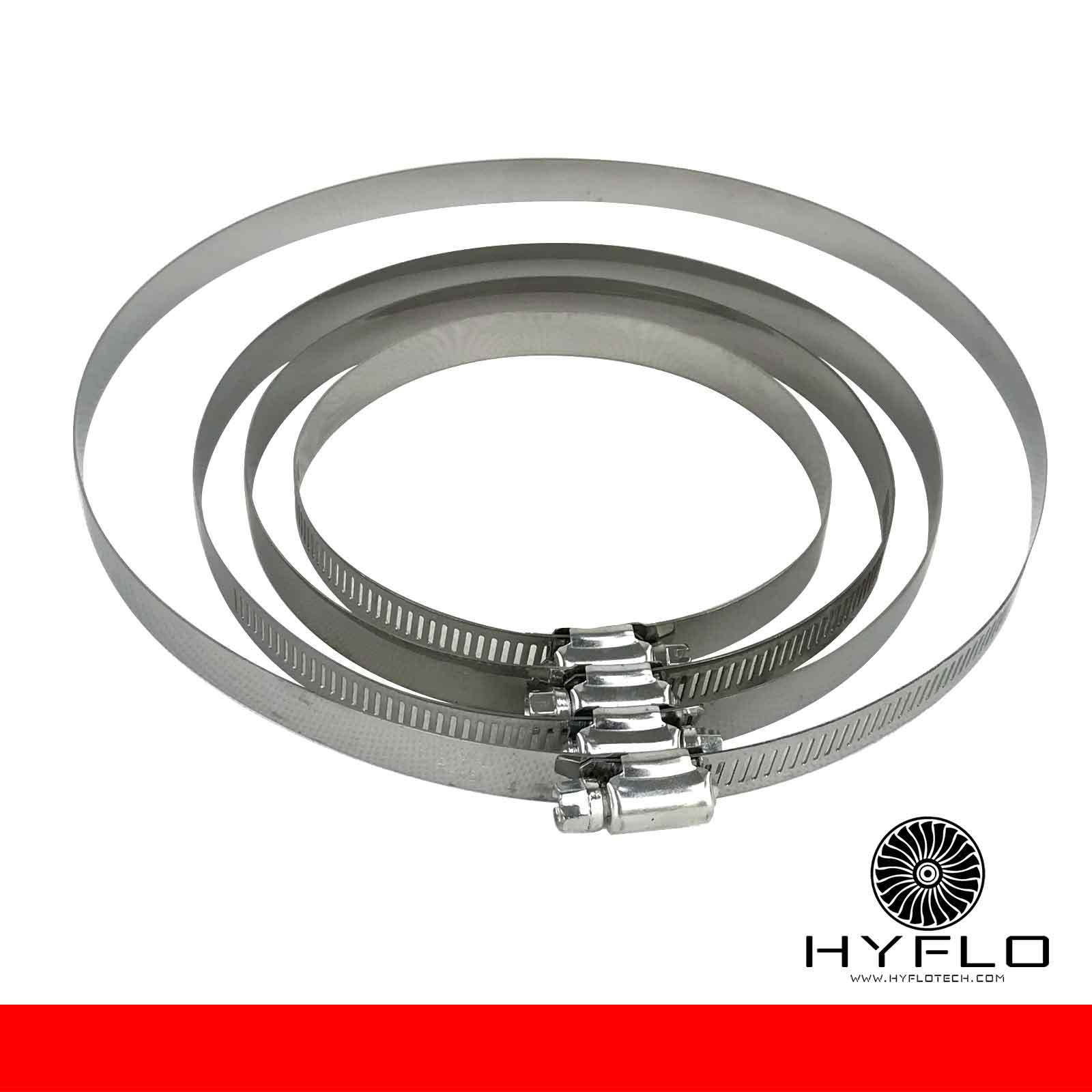 HyFlo 6 Inch 150mm Carbon Filter Exhaust Ventilation Kit Odour Control Combo