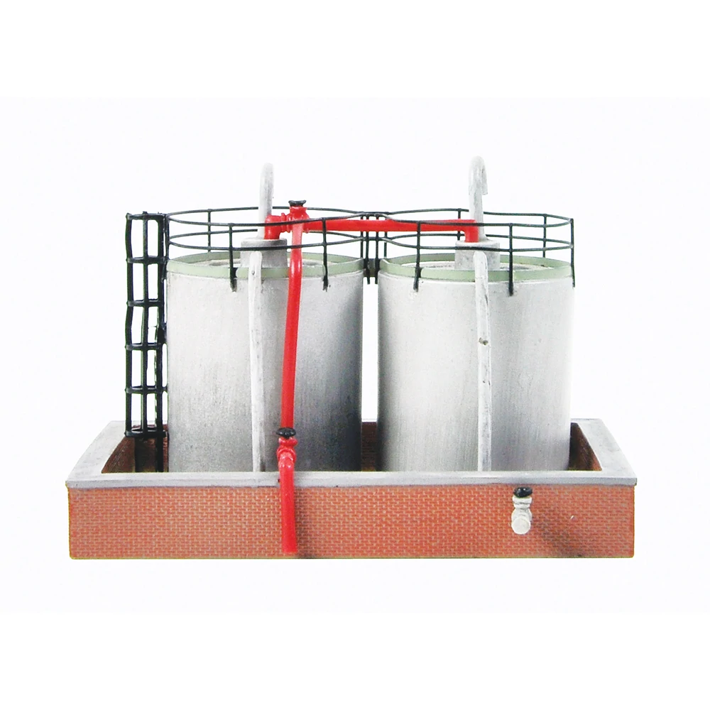 Graham Farish 42-016 Fuel Storage Tanks /'N/' Gauge T48 Post