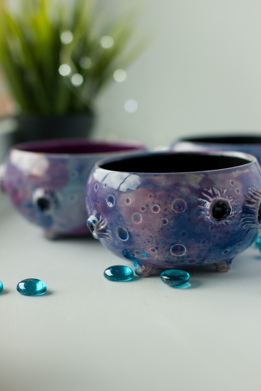 Moon Handmade Ceramic Bowl Ceramic Jewelry Holder Galaxy Bowl Moon Plate Cer Ebay