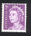 Sg#388a Scott#402a 7¢ Purple QEII [1971]