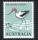 Sg#392 Scott#406 13¢ Avocet Bird