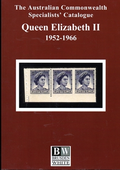 BRUSDEN WHITE QUEEN ELIZABETH 11 CATALOGUE 1952-1966