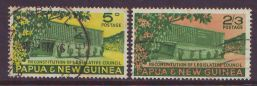 PAPUA NEW GUINEA 1961 LEGISLATIVE COUNCIL USED SET 2